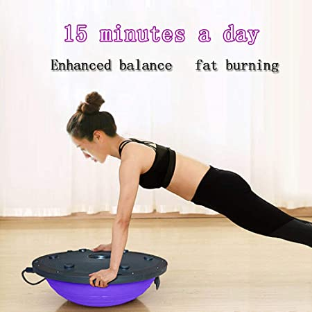FLY FLU Balance Trainer Board, Dome Ball Yoga Half Ball ...