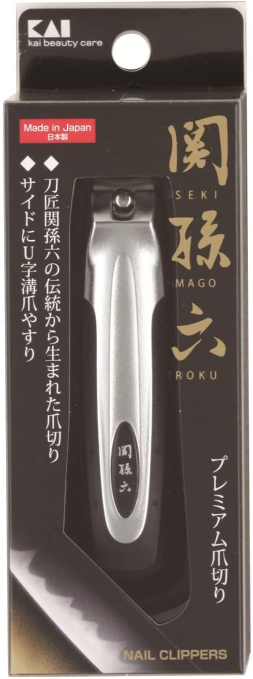 貝印 関孫六 プレミアム爪切り type101 HC1800