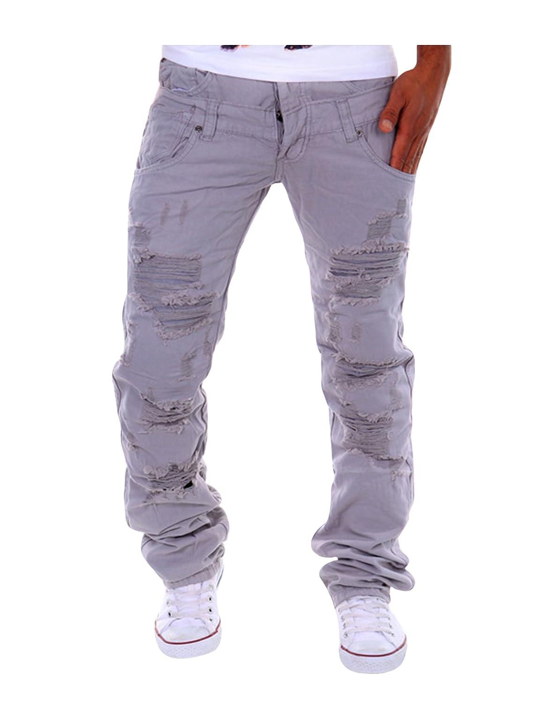 Letuwj Mens Cargo Vintage Regular Pant