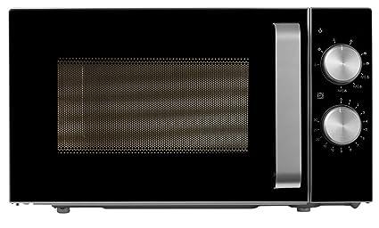 Medion MD 18071 - Microondas con grill, potencia de 800 vatios, capacidad de 20