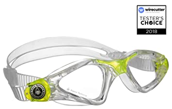 3fdc37ca827 Aqua Sphere Kayenne Jr. Swim Goggle - Clear Lens - Clear Great for  Swimming, Goggles - Amazon Canada