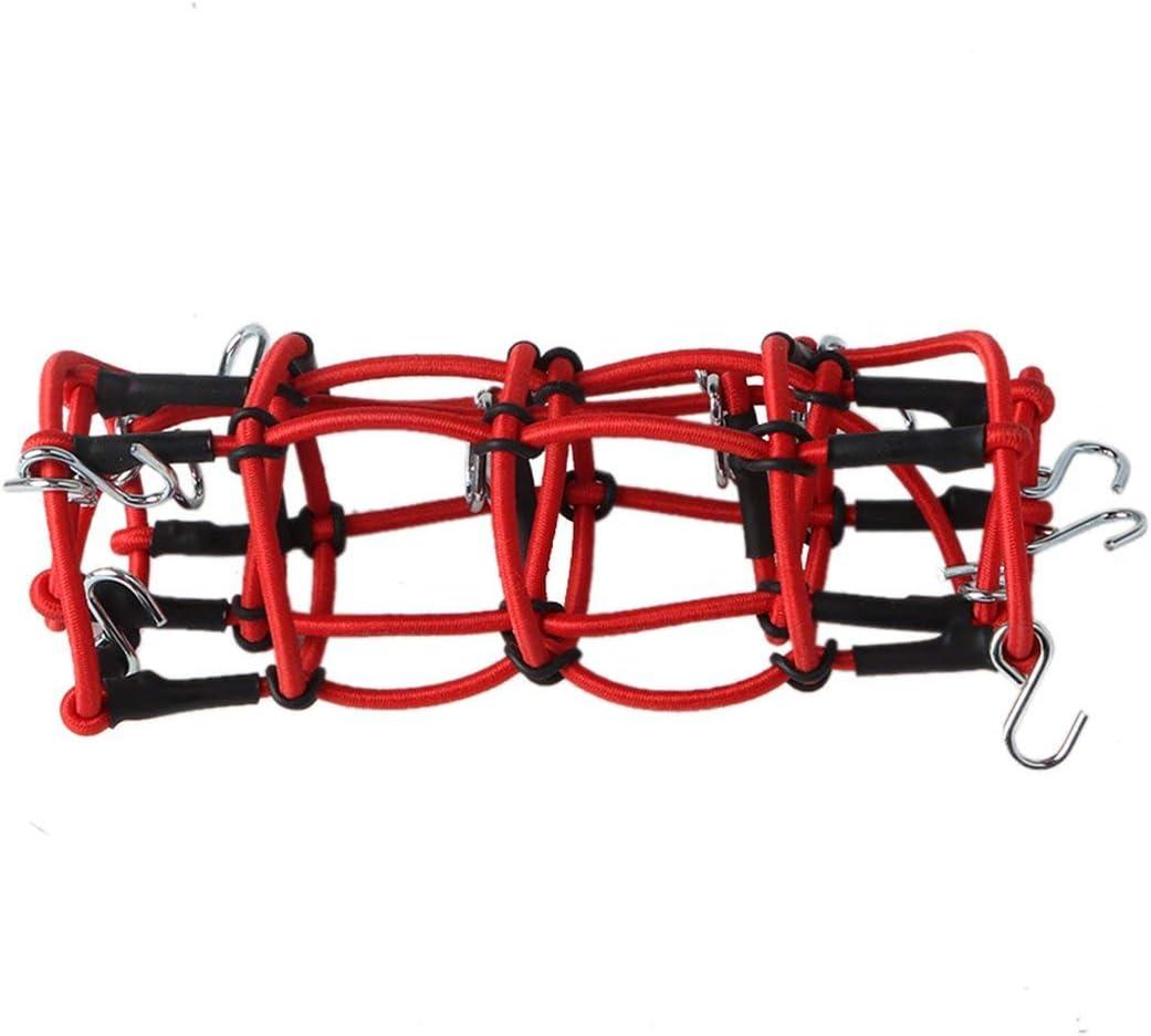 LouiseEvel215 Escala 1//10 RC Rock Crawler Accesorio Equipaje Techo Red para Rojo D90 D110 Traxxas TRX-4 Trx4 RC Coche