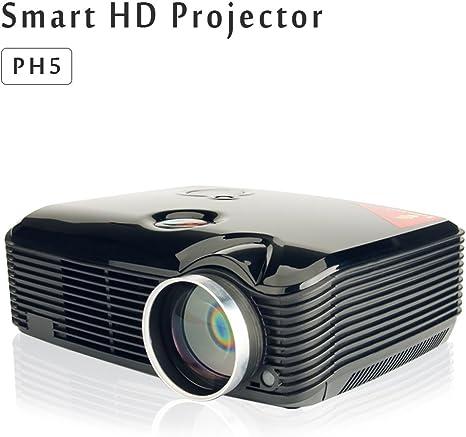 Tech Stick PH5 LCD Proyector 2500 Lúmenes cine en casa proyector ...