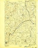 Barre MA topo map, 1:62500 scale, 15 X 15 Minute, Historical, 1889, 19.8 x 15.8 IN - Paper