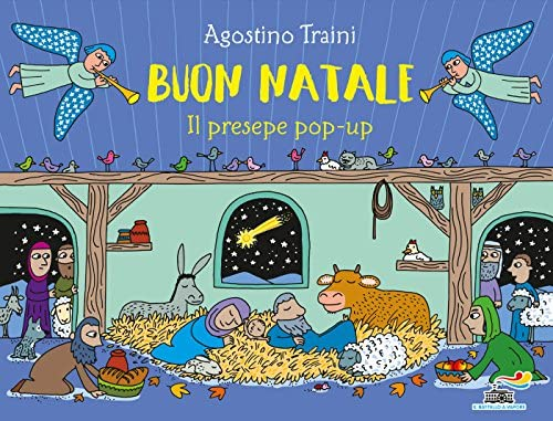Natale Presepe Immagini.Buon Natale Il Presepe Pop Up Amazon Co Uk Agostino
