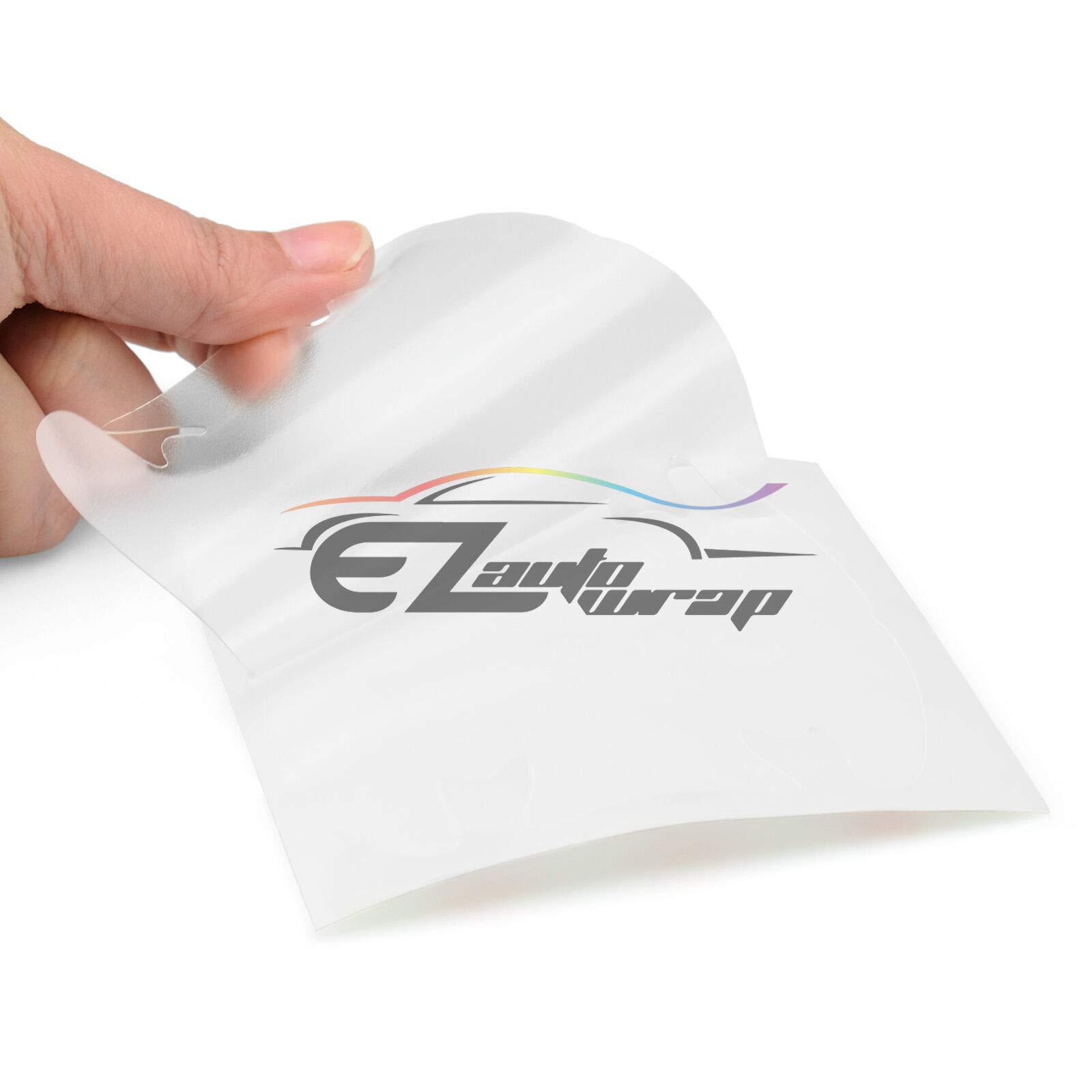 EZAUTOWRAP 4PCs 3M Scotchguard Clear Door Cup Handle Paint Scratch Protection Guard Film Bra Vinyl Style 1 by EZAUTOWRAP (Image #5)