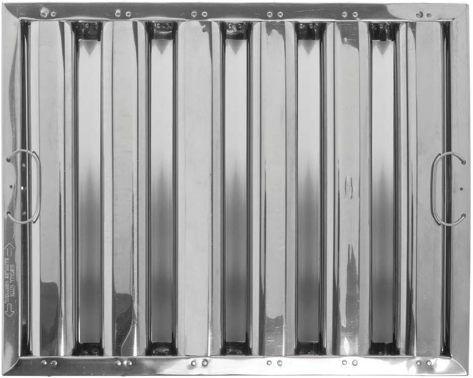 Franklin Machine 129-2166 Baffle Grease Filter 10Hx20W