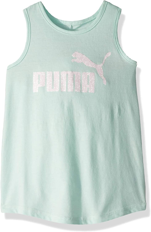 PUMA Little Girls Twist Back Tank