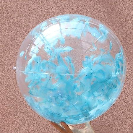 Balón de Playa Hinchable de liuxi con Plumas integradas ...