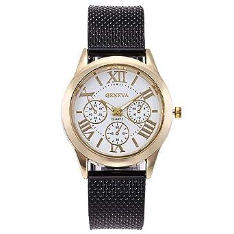 Sunnywill Relojes Mujer Elegante Relojes para Mujeres Reloj ...