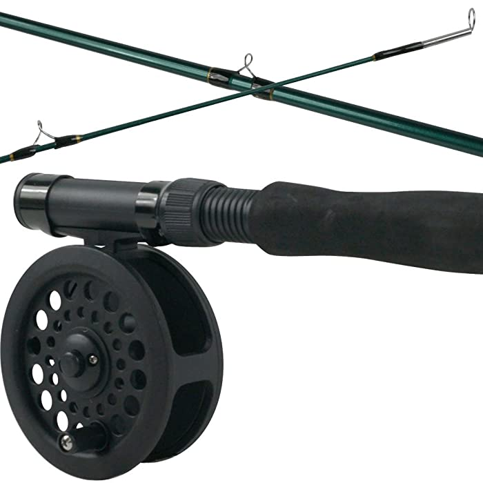 Crystal River C/CTFK1 Fishing Rod/Reel Combo Eva Grip
