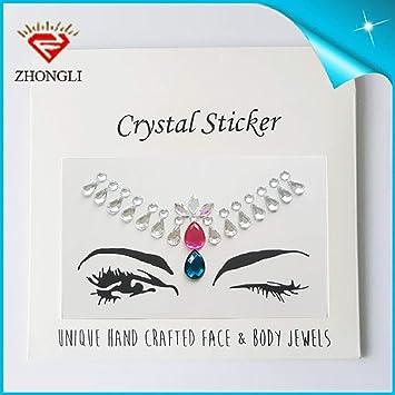 Mes Etiqueta engomada del tatuaje de acrílico Diamante Brillante ...