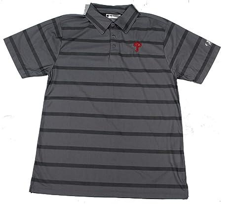 fce9be4d Amazon.com: Campus Lifestyle Men's Philadelphia Phillies Polo Golf Shirt  Size Medium: Sports & Outdoors