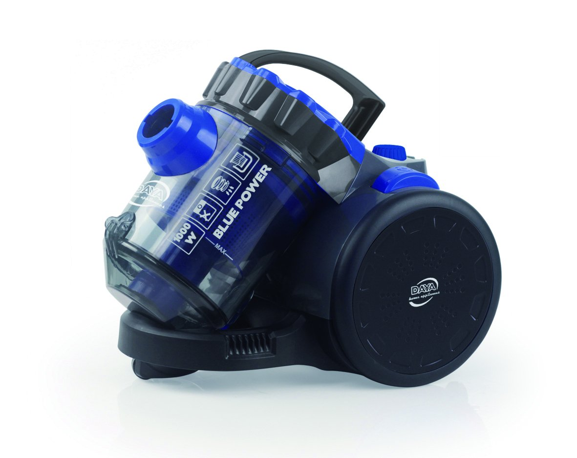 Acquisto Daya Home Appliances PPDAYASPI00850 Aspirapolvere a Traino Senza Sacco, 1000 W, Blu Prezzo offerta