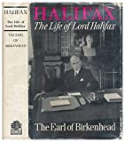 img - for Halifax: the life of Lord Halifax book / textbook / text book