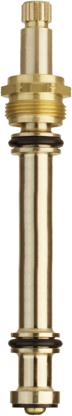 LASCO S-1016-2 Sterling Cold Stem Assembly for Roman Tub, D-Broach, Brass