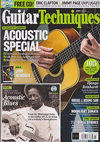 Guitar techniques magazine march 2018