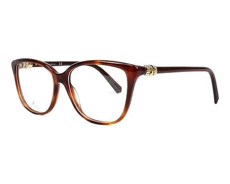 1f5938fed1a7 Eyeglasses Swarovski SK 5242 052 dark havana at Amazon Men s ...