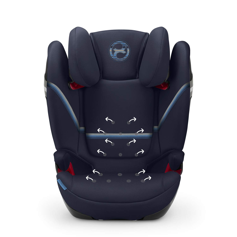 3 bis ca CYBEX Gold Kinder-Autositz Solution S-Fix Ab ca 12 Jahre F/ür Autos mit und ohne ISOFIX 15-36 kg Gruppe 2//3 Classic Beige