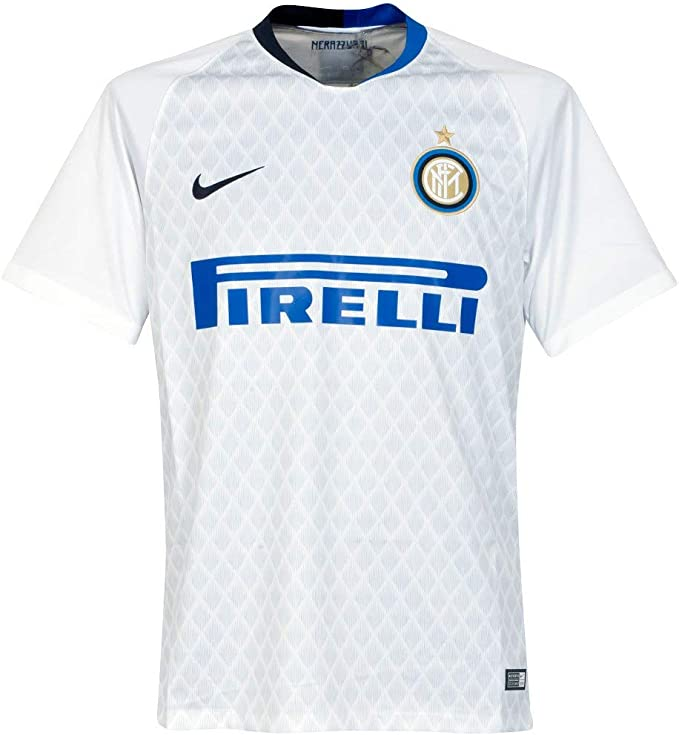 NIKE 2018-2019 Inter Milan Away Football Soccer T-Shirt Camiseta ...