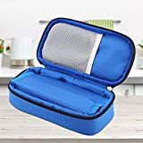 Portable Diabetic Organizer Cooler Bag ixaer Insulin Protector Case Supply Cooler Cool Bag Medical Travel Camping Ice Case Pack Injector Wallet for Insulin, Testing Supplies