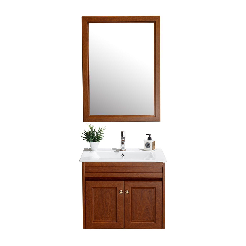 ENZORODI 安住 ERV58863Y-W 60公分挂墙式铝合金浴室柜组合