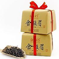 梅府茗家 武夷山桐木关金骏眉红茶 古法纸包250g×2 共500克