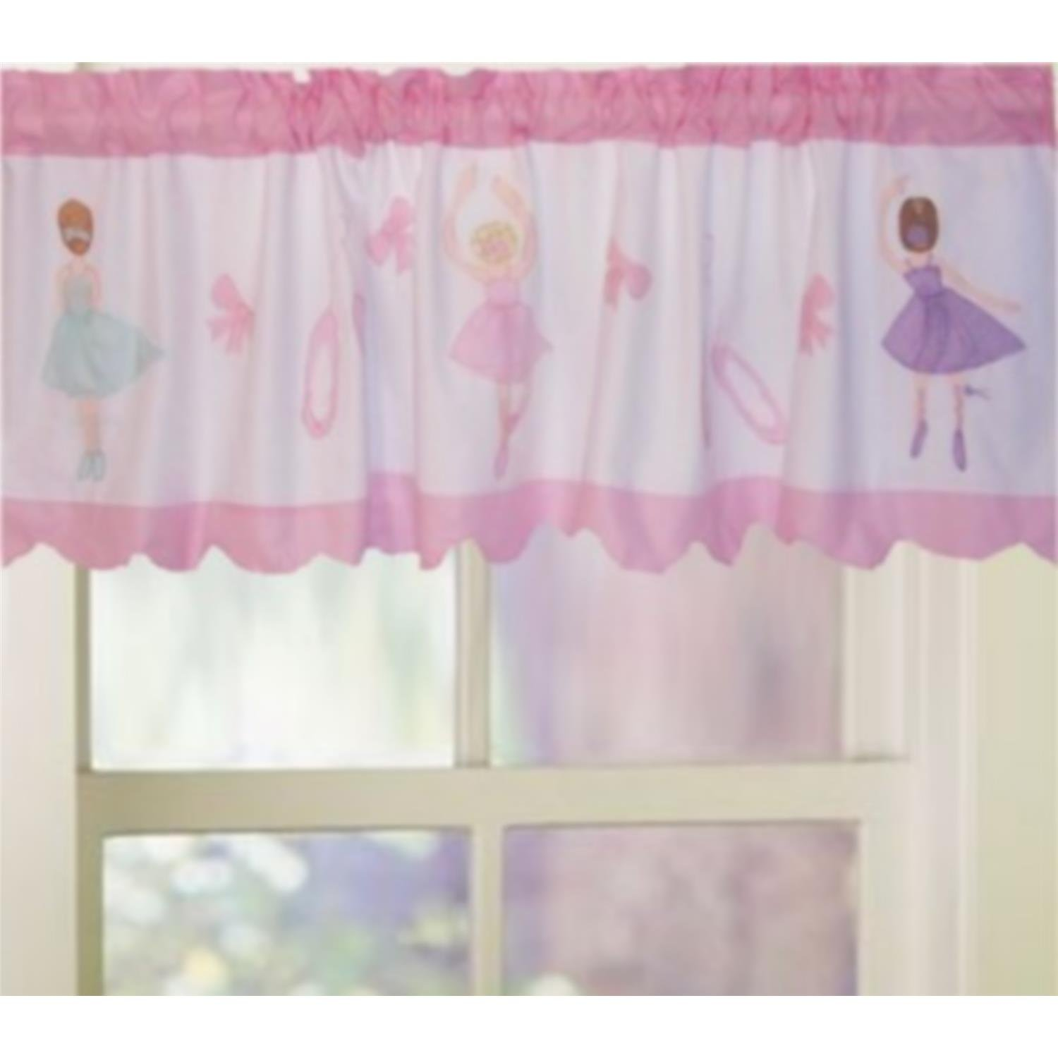 Ballet Lessons Window Valance