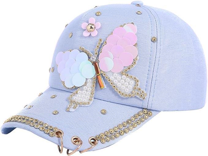 Gorra de Béisbol para Mujer Hip Hop,Mezcla de Moda y Partido ...