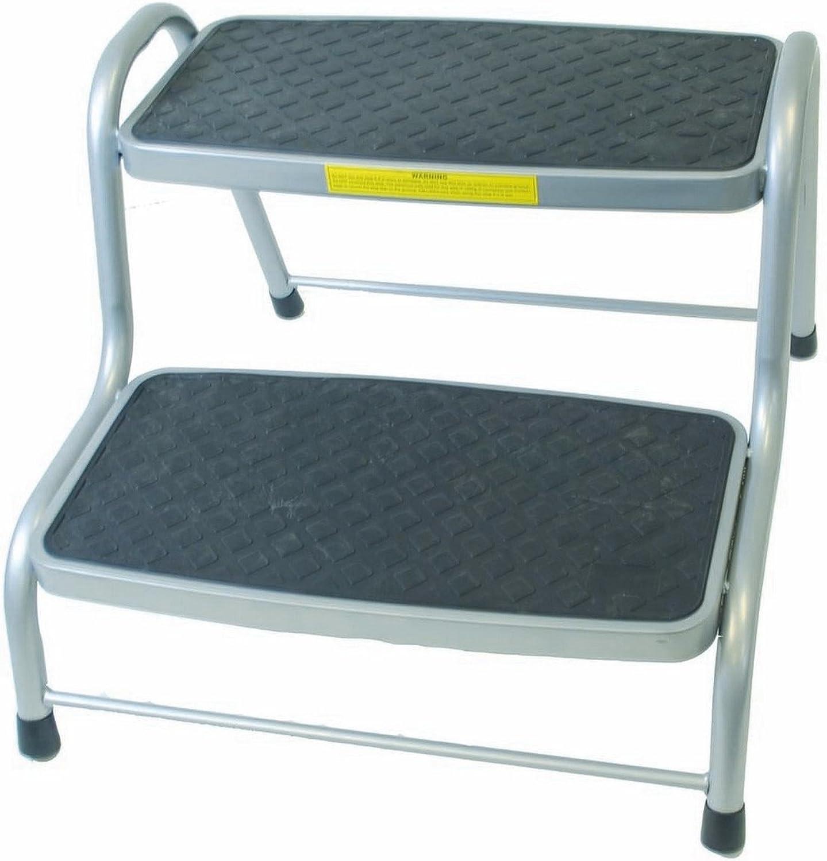 Brunner - Escalón doble XL modelo King Step para caravanas (Talla Única) (Plata): Amazon.es: Ropa y accesorios