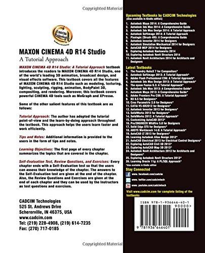Buy MAXON CINEMA 4D R14 Studio: A Tutorial Approach Book Online at