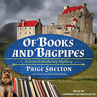 42d590bb0956 Amazon.com: Of Books and Bagpipes: Scottish Bookshop Mystery Series ...