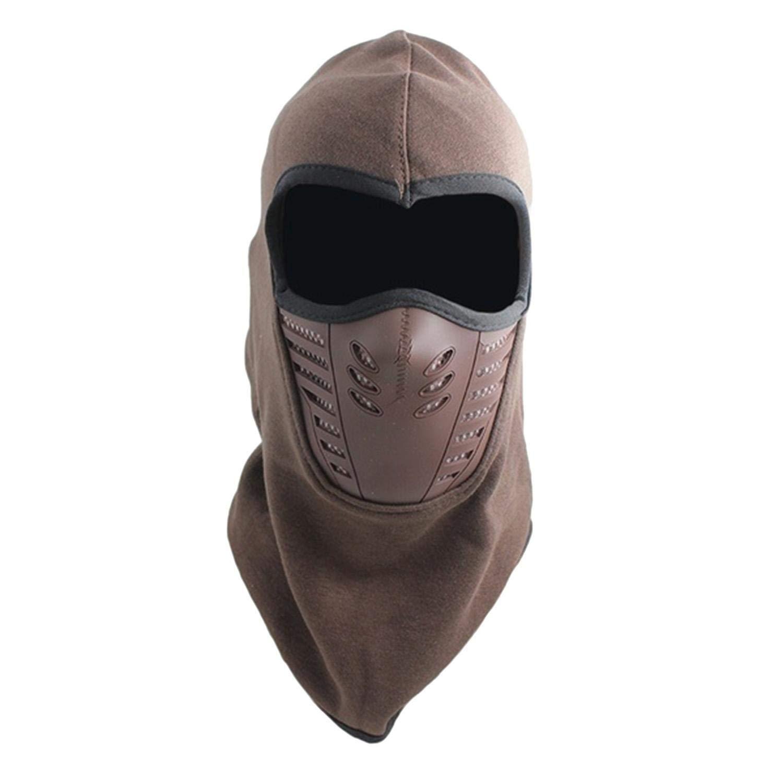 Shonlinen Men/'s Winter Balaclava Hat Face Mask Cold Weather Windproof Fleece Ski Ninja Mask