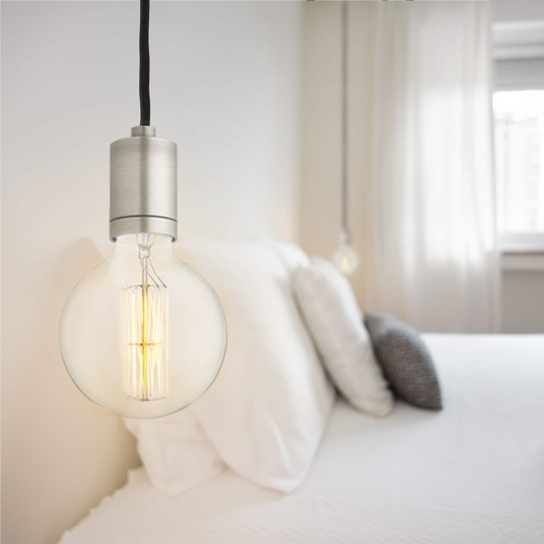 Amazon.com: Lámpara colgante con bombilla., 40.00watts ...