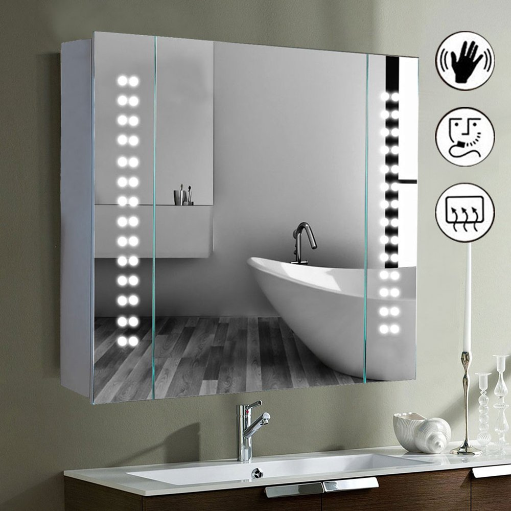 Led Illuminated Bathroom Mirror.