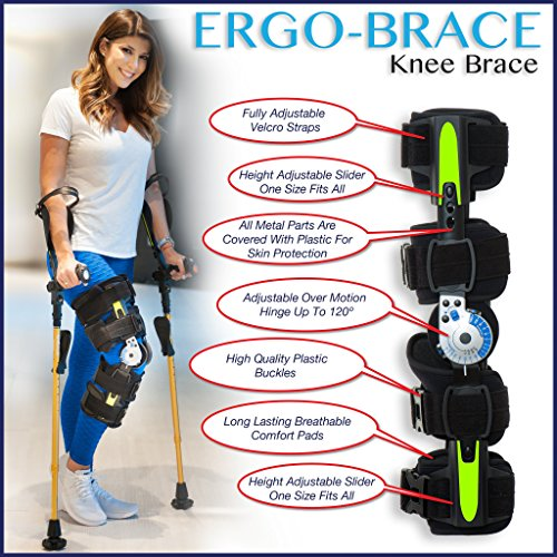 Ergoactives ErgoBrace G1 KPA Post Op Knee Brace ()