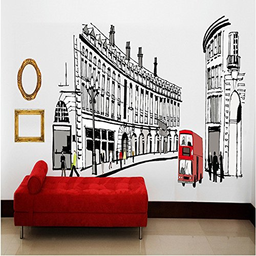 Wall Decals European Style PVC Wall Stickers - 3