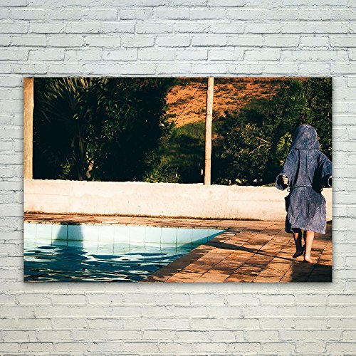 Westlake Art Pool Photography - 12x18 Poster Print Wall Art - Modern Picture Photography Home Decor Office Birthday Gift - Unframed 12x18 Inch (71B0-8D9C5)