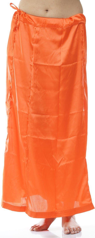 Odishabazaar Women Petticoat peticoat Sari Saree Underskirt Satin Bollywood Saree Skirt + Free Sari Pin (#7) by Odishabazaar (Image #2)