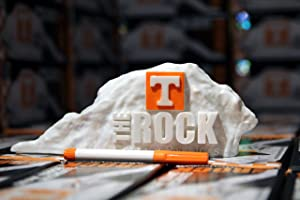 College Replicas The Dry Erase Rock from The University of Tennessee (UT) NCAA