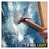 BDF S8MB50 WIndow Film Security and Safety 8 Mil Black 50 (Light) - 24in X 12ft