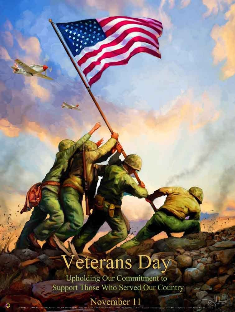 Amazon Com Veterans Day Poster Vet12 Posters Prints