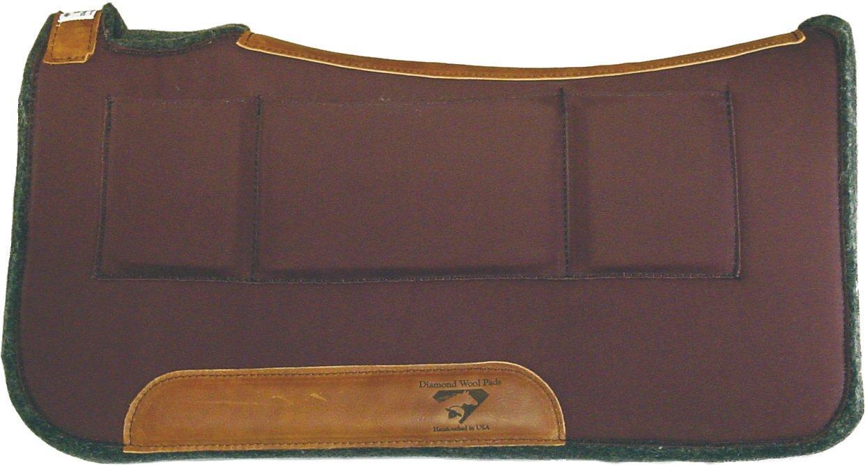Diamond Wool Contour Relief Pad w//Shim Pockets DIAMOND WOOL PAD CO
