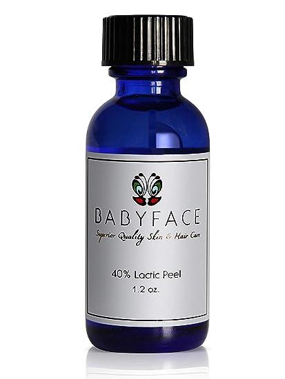 Ácido láctico para peeling profesional de Babyface 40 ...