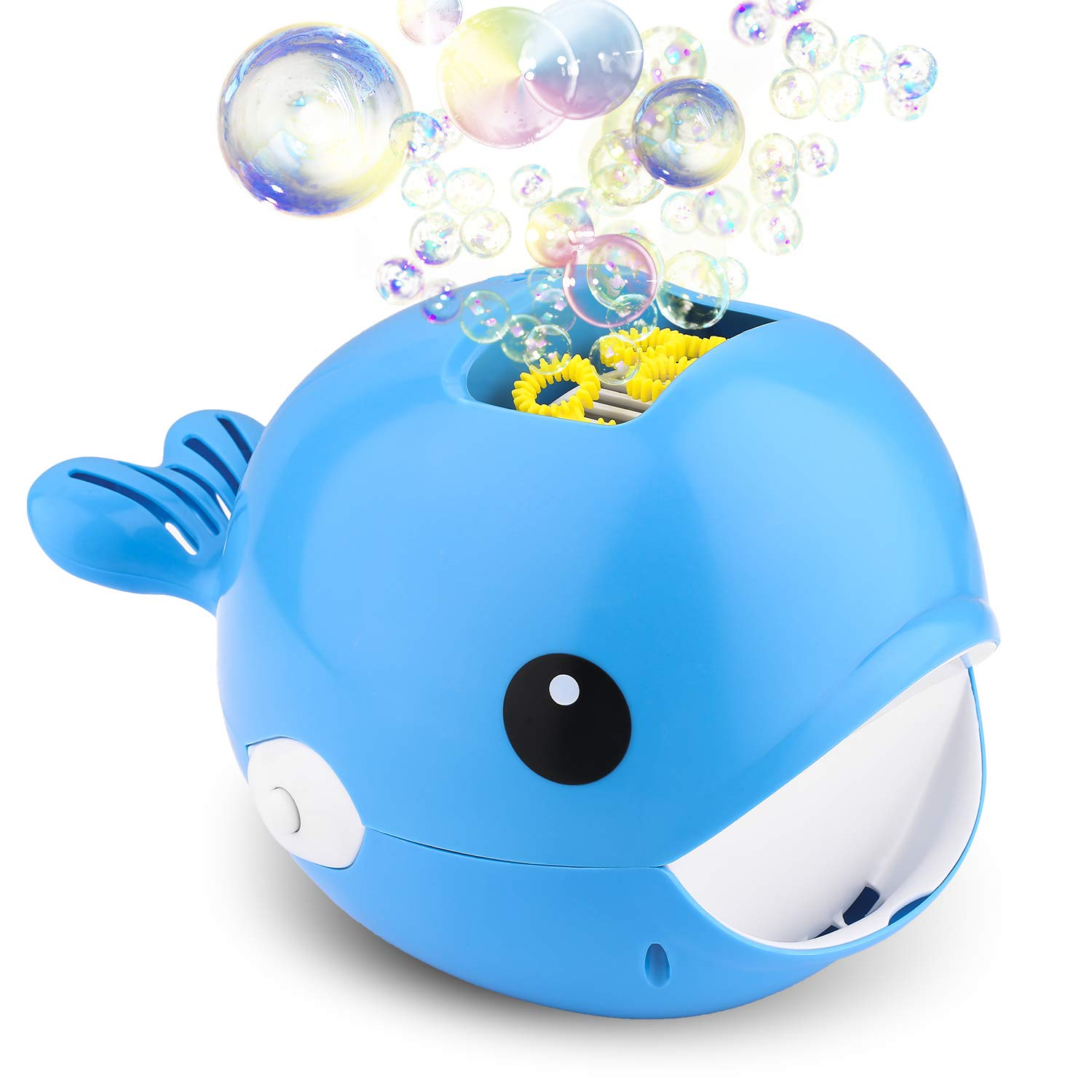 Biulotter Bubble Machine, Automatic Bubble Blower, Bubble Maker 2000+ Per Minute Bubble Machine for Kids, Easy to Use for Parties, Wedding, Indoor and Outdoor Activities