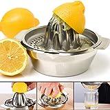 Vanleonet Stainless Steel Citrus Lemon Orange Juicer Manual Hand Squeezer, Juicer Hand Press Manual Juicer Fruit Lemon Lime O