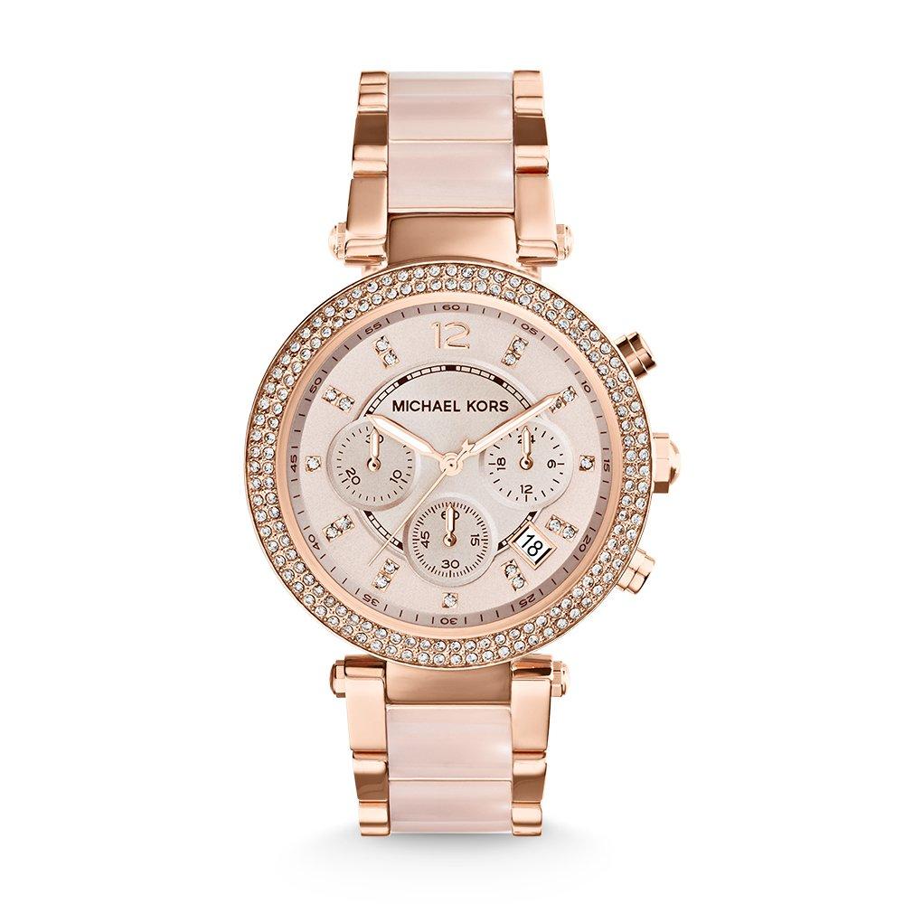 3c7ab092825e1 Amazon.com  Michael Kors Women s Parker Two-Tone Watch MK5896  Michael Kors   Watches
