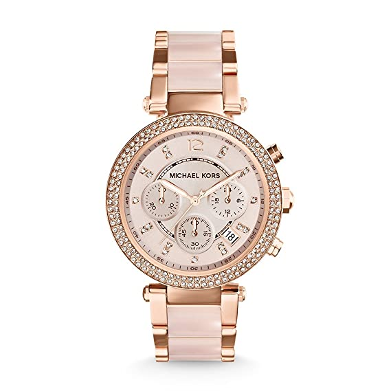 6efdcf484ab87 Buy Michael Kors Analog Rose Dial Women s Watch - MK5896 Online at ...