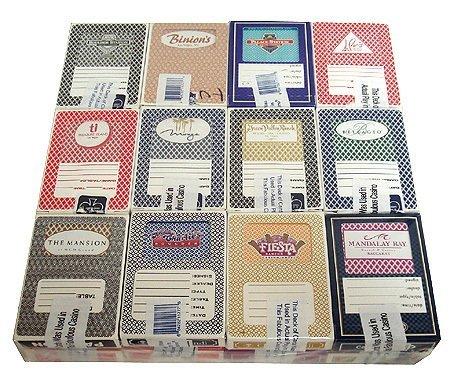 (24) Decks Used Las Vegas Nevada Casino Playing Cards