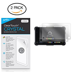 Atomos Shogun Inferno Screen Protector, BoxWave® [ClearTouch Crystal (2-Pack)] HD Film Skin - Shields from Scratches for Atomos Shogun Inferno | Ninja Inferno